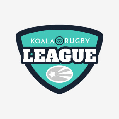 Rugby Logo Maker for a Rugby League 1618
