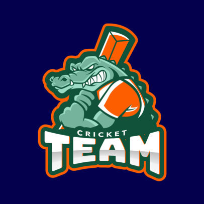 Cricket Team Logo Creator 1649