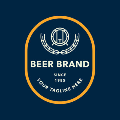 Brewery Logo Maker for Craft Beer Brands 1657