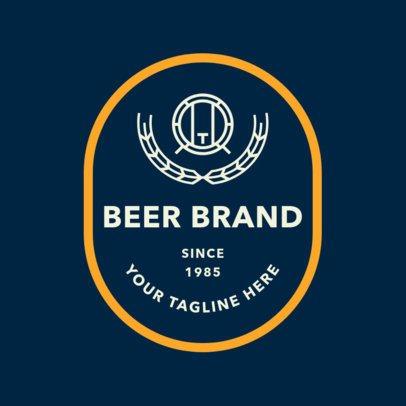 Brewery Logo Maker for Craft Beer Brands 1657