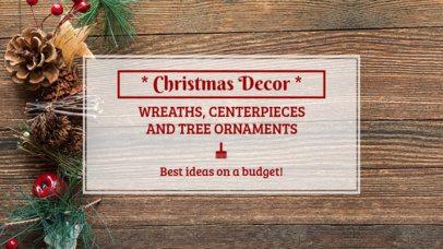 Christmas YouTube Thumbnail Maker 889e