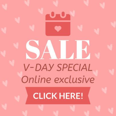 Valentine's Day Banner Maker for an Exclusive Sale 1048
