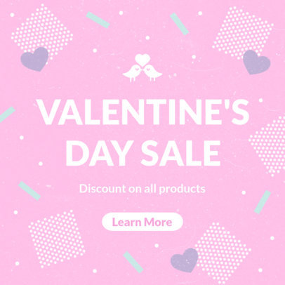 Valentine's Day Sale Banner Maker 1051
