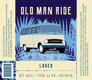 Vintage Beer Label Design Template 762d