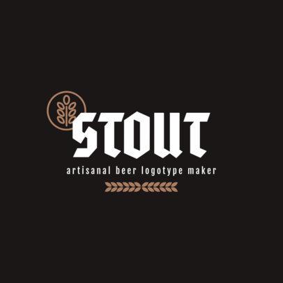 Brewery Logo Maker 1656