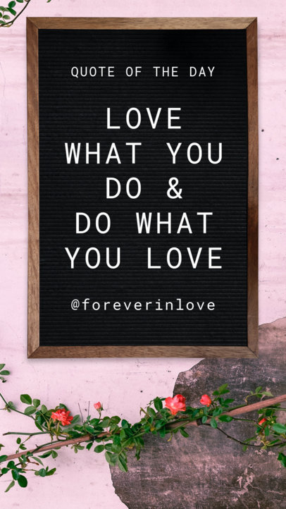 Instagram Story Maker for Valentine's Day Quotes 1054