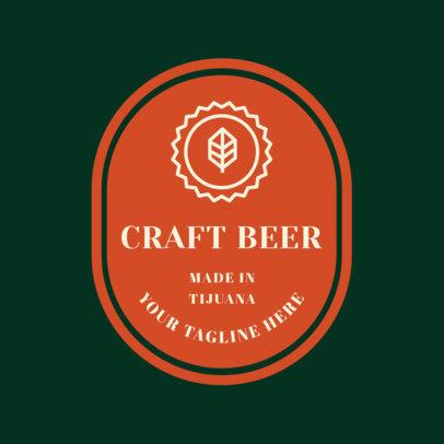 Beer Logo Maker for a Beer Brand 1657a