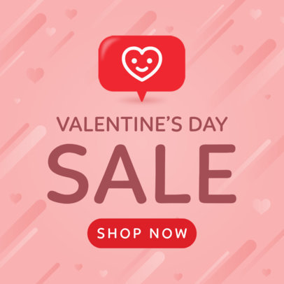 Banner Maker for a Valentine's Day Sale 1056