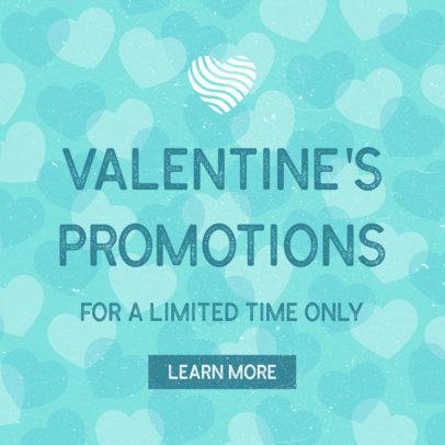 Ad Banner Maker for Saint Valentine's Day 1051c