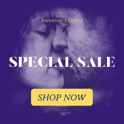 Banner Maker for a Valentine's Special Sale 1047a