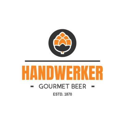 Brewery Logo Maker for a Gourmet Beer Brand 1654