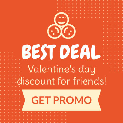 Simple Banner Maker for a Valentine's Day Promo 1048d