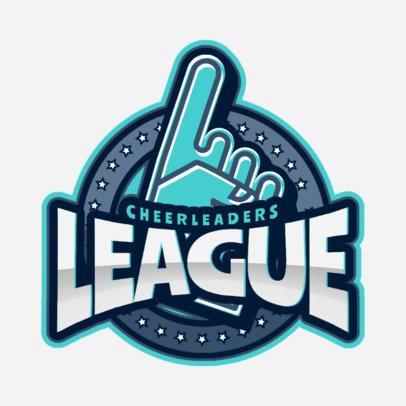 Cheer Logo Maker for a Cheerleading League 1599d