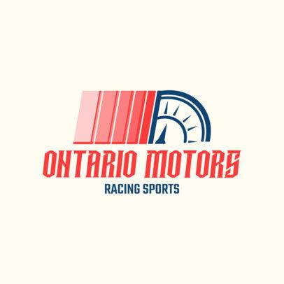 Racing Logo Design Template 1646