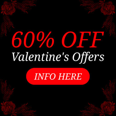 Banner Maker for a Valentine's Offer 1049d