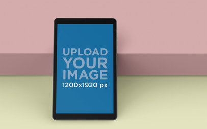 Rendered Samsung Galaxy A Tab Mockup 25054