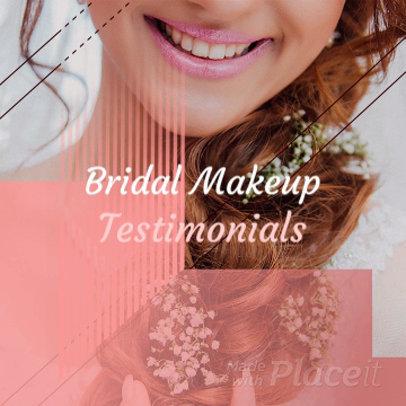 Instagram Video Maker for a Makeup Customer Testimonial Video 949