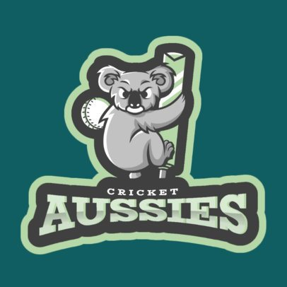 Cricket Team Logo Generator 1649b