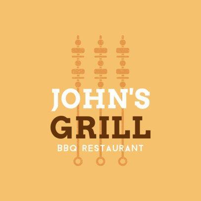 BBQ Restaurant Logo Generator 1674e