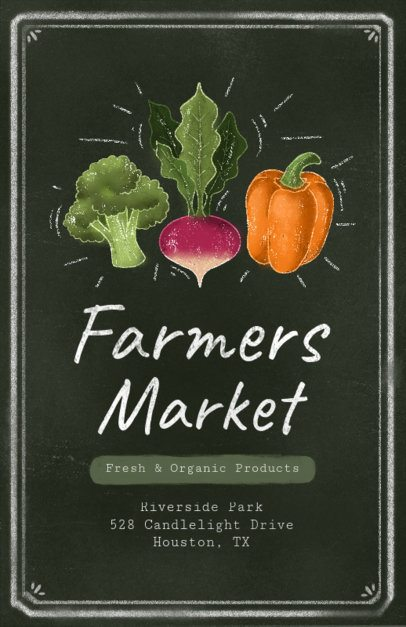 Farmers Market Flyer Maker 265d