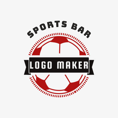 Bar Logo Maker for a Sports Bar 1685