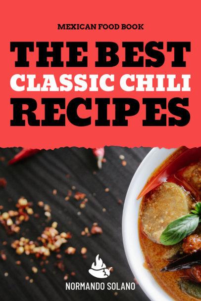 Chili Recipes Book Cover Maker 917b