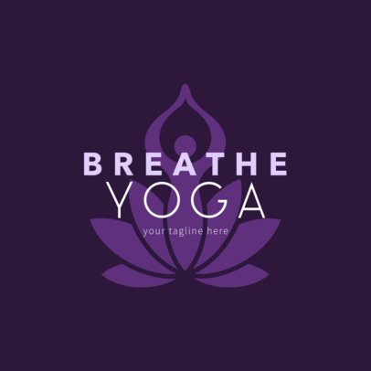 Logo Generator for Yoga Classes 1369a