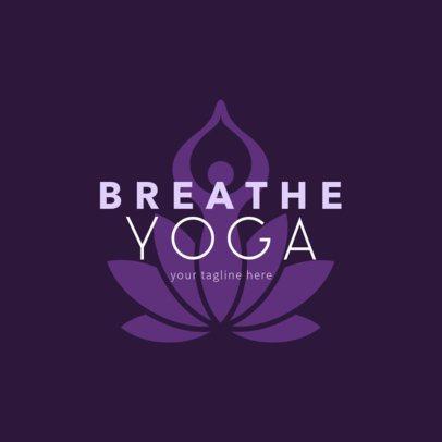 Logo Generator for Yoga Classes 1369a