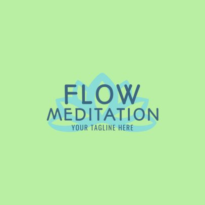 Meditation Retreat Logo Template 1369e