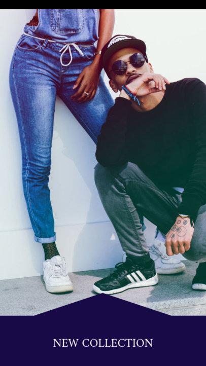 Instagram Story Maker for an Urban Clothing Brand 943d