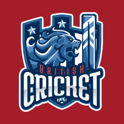 International Cricket Team Logo Maker 1652e