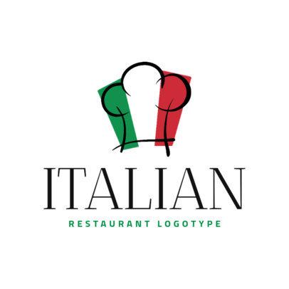 Italian Food Logo Creator 1663