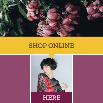 Modular Banner Maker for an Online Shop 1053b