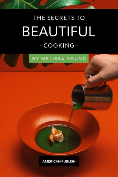 Recipe Book Cover Maker for Artistic Cooking 910e