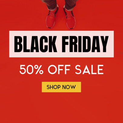 Black Friday Sale Banner Maker 748b