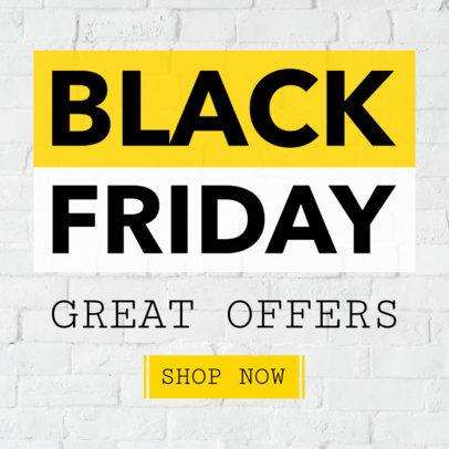 Online Banner Maker for Black Friday Offers 748d