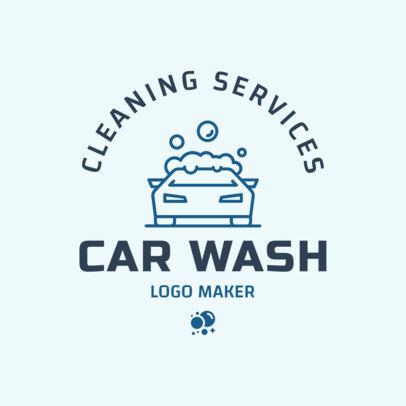 Car Wash Logo Maker 1755