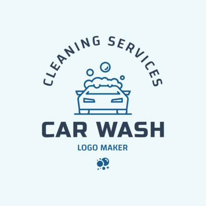 Car Wash Logo Maker 1755