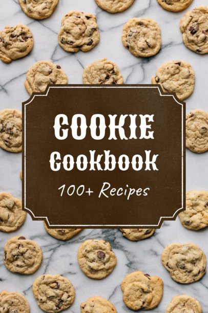 Cookbook Cover Maker with a Badge 918d