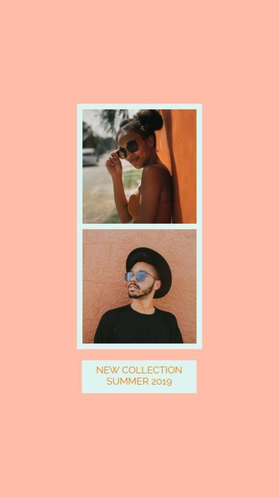 Instagram Story Template for a Summer Collection Promo 944b
