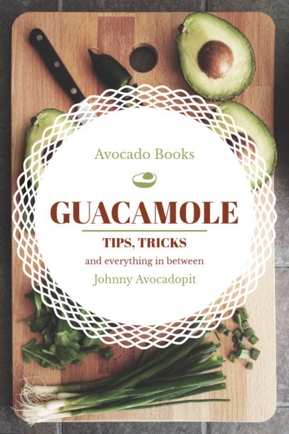 Guacamole Recipe Book Cover Generator 924d