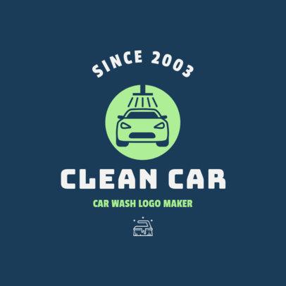 Car Wash Logo Template 1755a