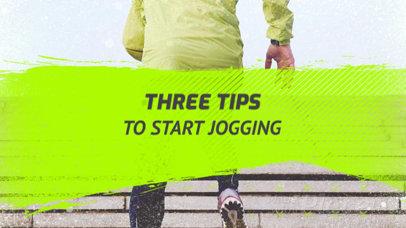 Slideshow Video Maker for a Step by Step Jogging Tutorial 806k