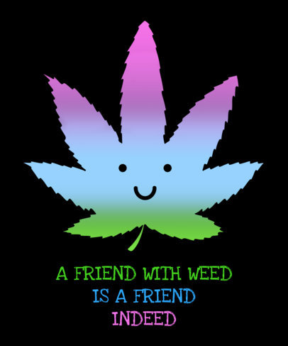 Marijuana T-Shirt Design Maker 1060
