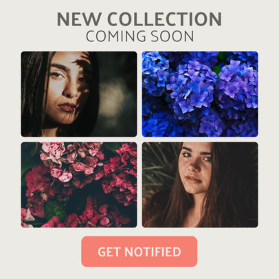 Modular Layout Banner Maker for a New Collection 1057a