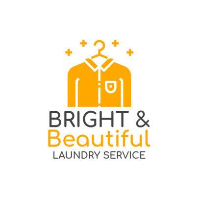 Laundromat Logo Maker 1775d