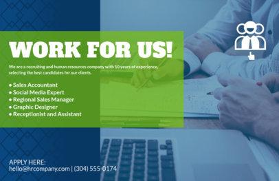 HR Recruitment Agency Flyer Maker 723a