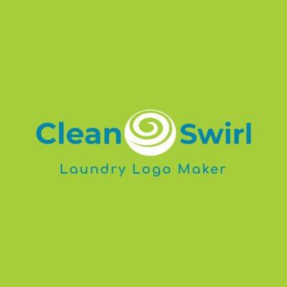 Laundry Service Logo Maker 1776a