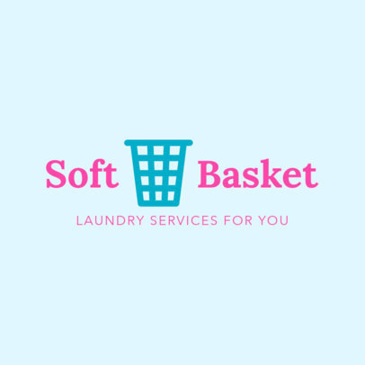 Laundry Logo Template 1776d
