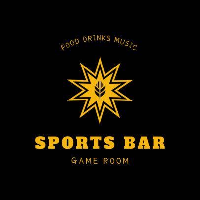 Bar Logo Maker for a Sports Bar 1684